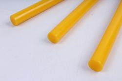 Стержень клеевой для Термопистолета (D=11,2мм L=20cм) - Жёлтый - Поштучно