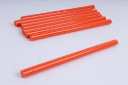 стержень клеевой для термопистолета (d=11,2мм l=20cм) - оранжевый - поштучно