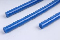 Стержень клеевой для Термопистолета (D=7мм L=20cм) - Синий - Поштучно
