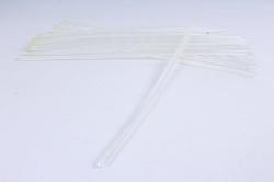 стержень клеевой для термопистолета (d=7мм l=30cм) - прозрачный - поштучно