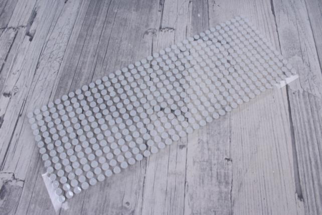 стразы круглые жемчуг белый   504шт   dz6р-5  0902