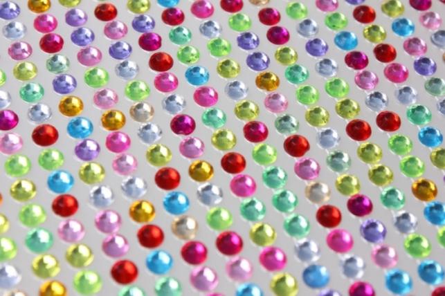 Стразы Мозаика цветные липучке 4мм 1000шт DZ472 8951