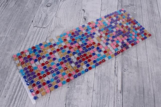 стразы мозаика микс   6мм  504шт   dz396  7824