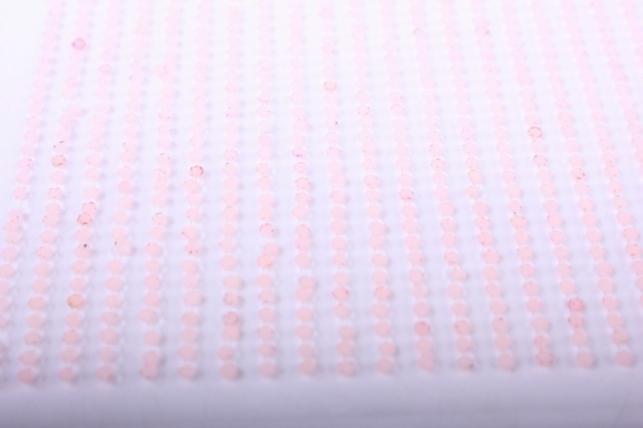 стразы на липучке -  жемчуг коралловый 2мм 1782шт dz576 - код 4387