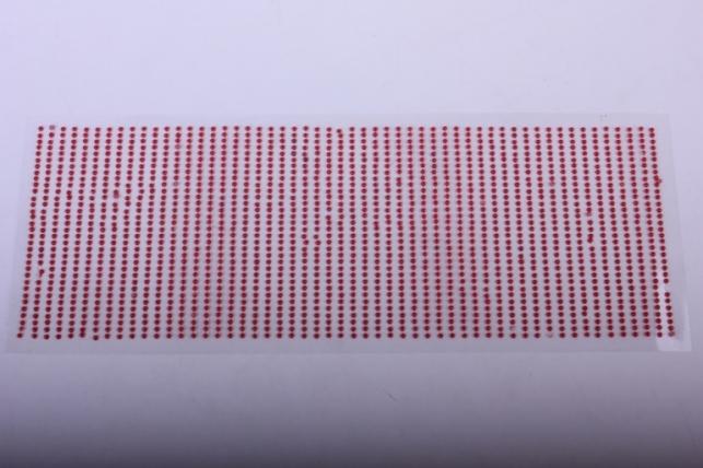 стразы на липучке -  жемчуг красный 2мм 1782шт dz577 - код 4394