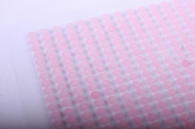 стразы на липучке -   жемчуг розовый 3мм 1404шт  dz339 - код 7251