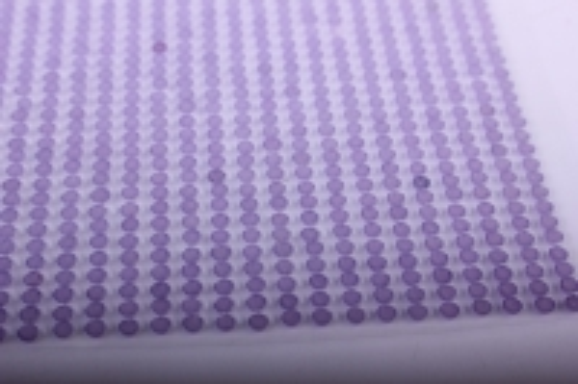 стразы на липучке -  жемчуг сирень 3мм  1404шт dz334 - код 7206