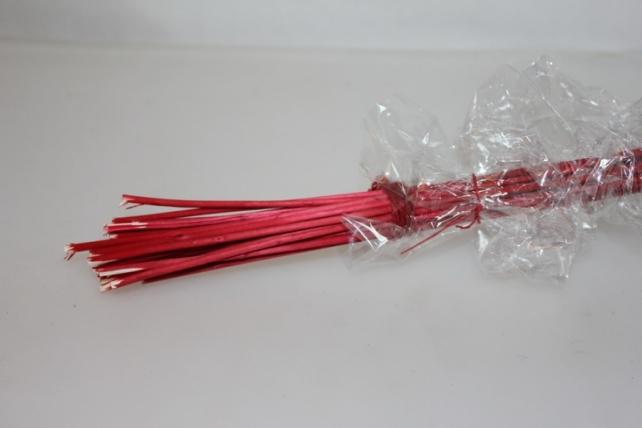 тинги с бусинками 80см сухоцветы 1142 тинги с бусинками 80см (30 шт в упак) - красный 7315