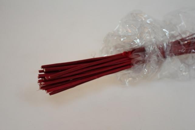тинги со стрекозками сухоцветы 1185 тинги со стрекозками  60см (30 шт в упак) - красный 7313