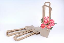 Сумка для цветов крафт   (10шт в уп) W101