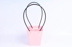 Сумка для цветов Розовая трапеция