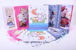 Подарочные пакеты - Сумка ламинированная Детские  26x32x12 (20 шт/уп)
