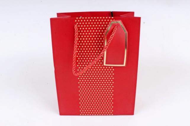 Сумка Люкс Бисер красный  (12шт в уп) Цена за 1шт  L55
