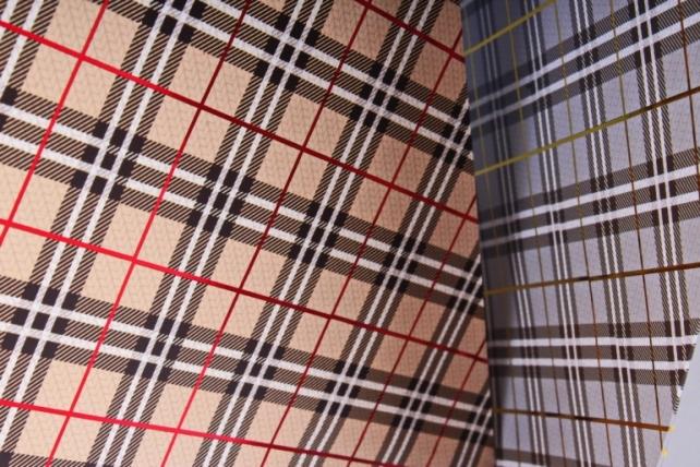 Сумка Люкс Шотландка тиснение металл  (микс) 12шт/уп Цена за 1шт  L0142