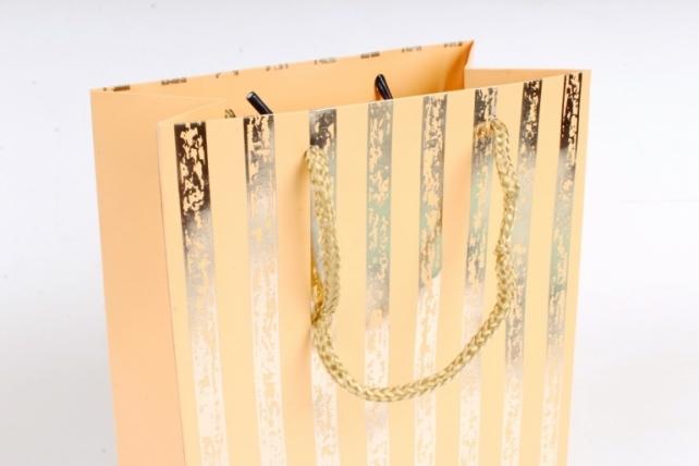 Сумка  Люкс Золотая полоса патина желтый   (12шт/уп) Цена за 1шт L758