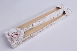 Свеча античная слоновая кость (2шт)  001122