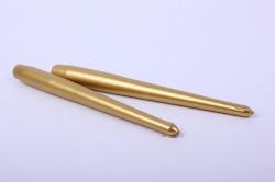 Свеча античная золотая (2шт в уп)  3905 d=2 h=24см