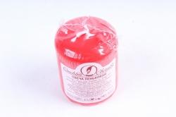 079118  Свеча пеньковая  красная  (1шт)