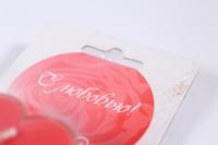 свеча сердечко ароматизированное (0446)