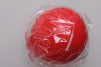 Свеча шар d=55мм красный (1шт) 083118
