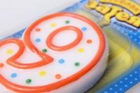 свечи на торт цифры №9 4152