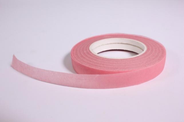 Тейп-лента розовая 13мм