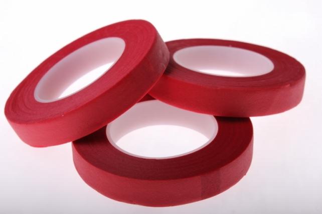 аксессуары для флористов - тейп-лента в асс.13 мм тейп-лента в асс.13 мм - красный 925