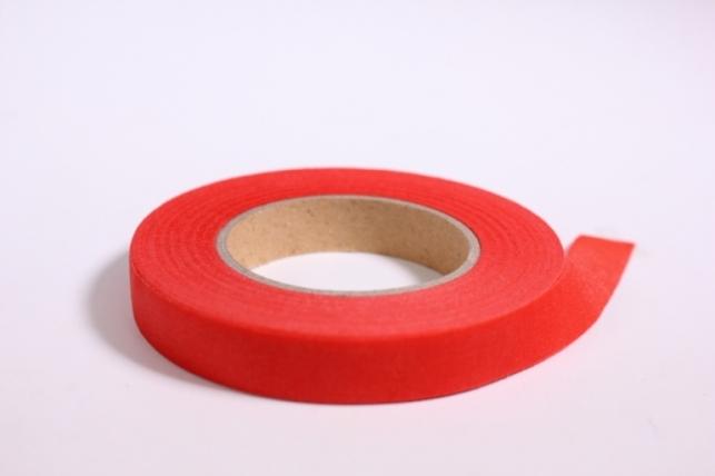 Тейп-лента в асс.13 мм - Красная