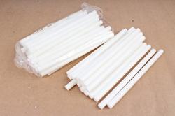 ТермоКлей цветной  (11,2*200 мм) -8195-белые 1000 г