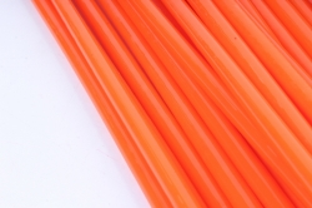 ТермоКлей цветной  (7*200 мм) -8791-оранжевый 1000 г