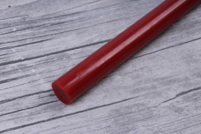 термоклей для пистолета(стержень клеевой)  20 см d=11,2 мм красный (1кг)