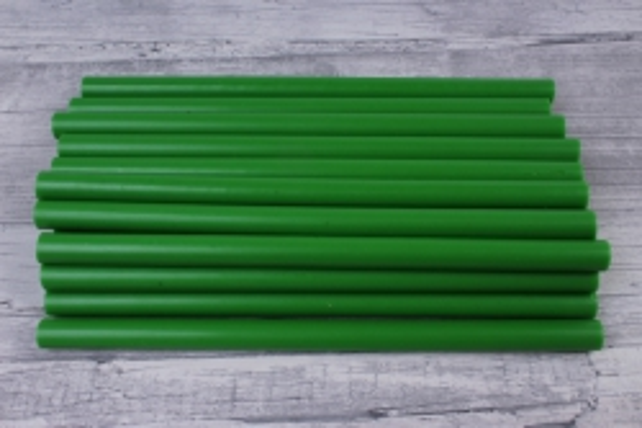 термоклей для пистолета(стержень клеевой) 20 см d=11,2 мм зелёный (1кг)