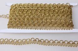 Тесьма плетеная (золото)  KR77 7568