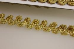 тесьма змейка (золото) kr42 7216