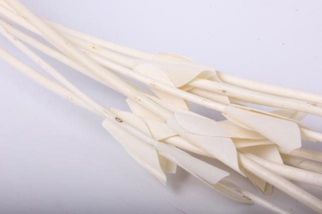тинги декор с листиками пр. 120см 1/10шт. белый