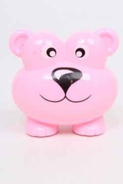 Точилка Мишка розовый