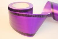 Траурная Ритуальная Лента 8х50м Фиолетовый P810