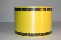 Траурная Ритуальная Лента 8х50м Жёлтая Р823