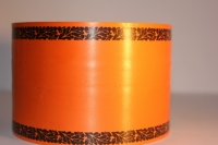 Траурная Ритуальная Лента 8х50м Оранжевая Р832