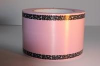 Траурная Ритуальная Лента 8х50м Розовая Р827