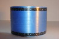 Траурная Ритуальная Лента 8х50м Синяя Р825