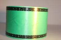 Траурная Ритуальная Лента 8х50м Зелёная Р826