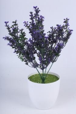 Трава фиолетовая 40 см - Искусственное растение