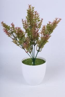 Трава розовая 40 см - искусственное растение