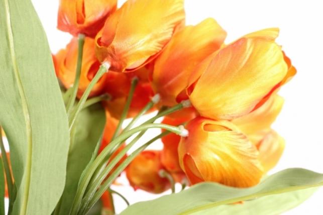 тюльпан 35см оранжевый  zliu203