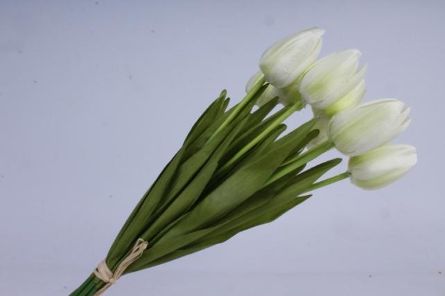 тюльпаны букет 42 см (10 шт в уп) шампань art002