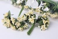 Тычинки цветочные (12шт в уп) KWW046 - растения для декорирования