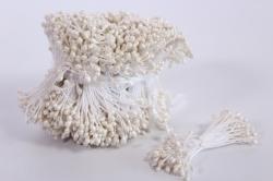 Тычинки фоам белые 3 мм (1550 шт)