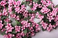 тычинки розовые (12 букетов по 12шт)
