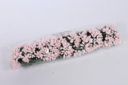 тычинки с ягодами розовые (12 букет. по 12шт)